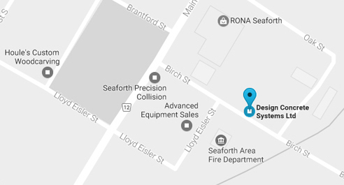 Location Map: 63 Birch St, Seaforth ON N0K1W0