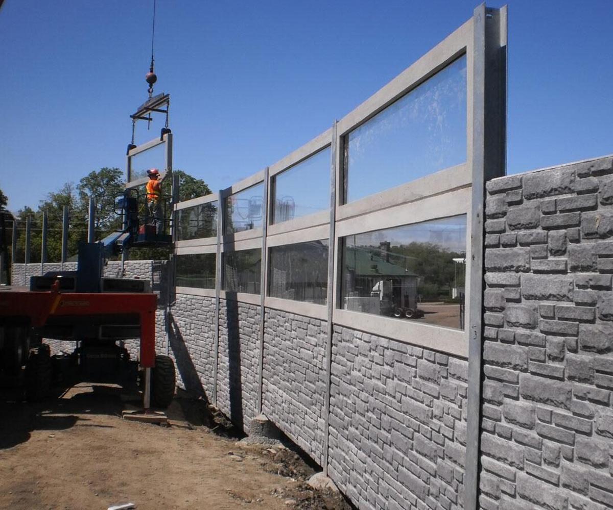 Acrylite construction site